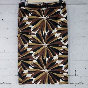 Boden Fall Floral Skirt Size 2